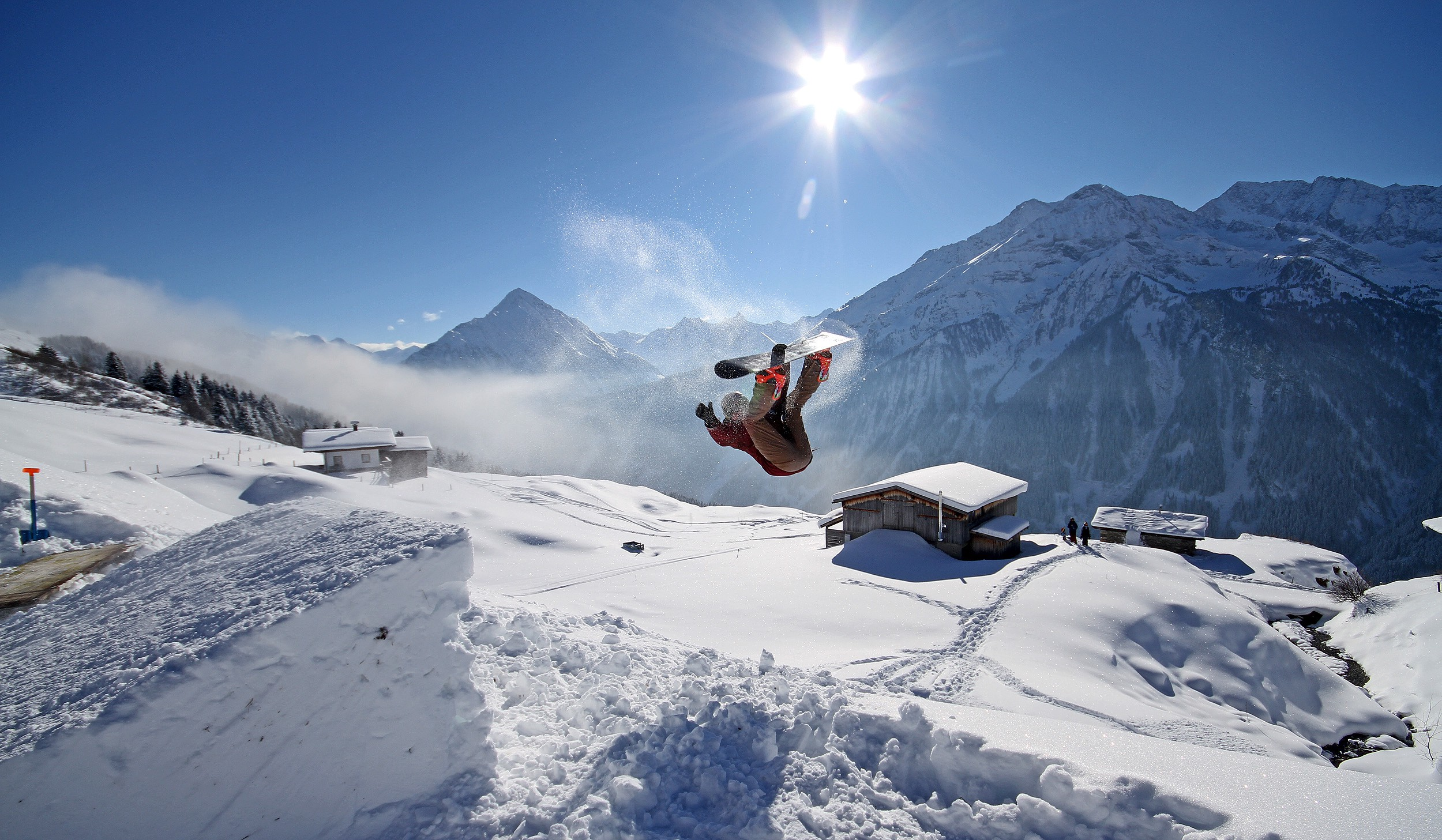 Comment faire un backflip en snowboard